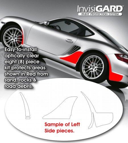 Porsche Cayman Invisigard Paint Protection Clear Bra